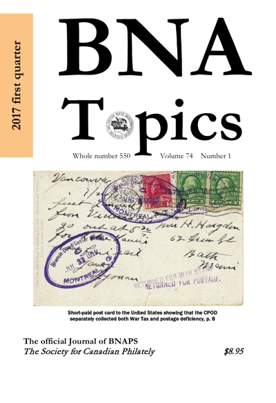 Cover of current issue of BNA Topics