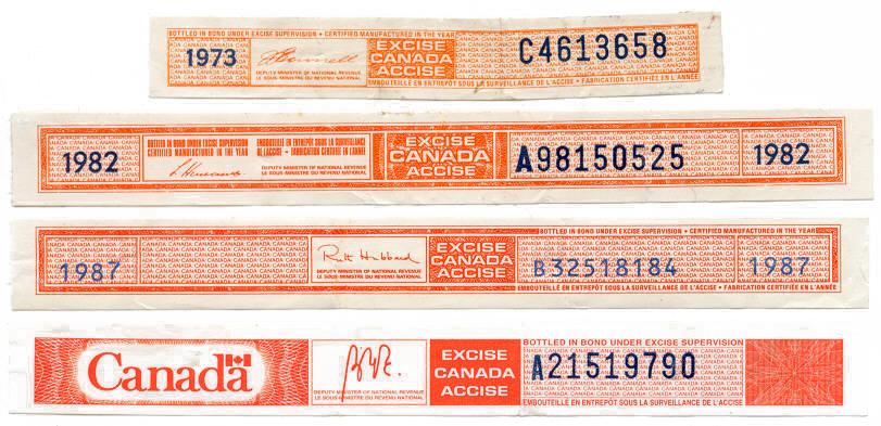 bottle stamps liquor strips revenue Added: