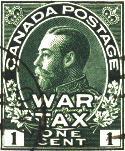 Ore War Tax Stamps